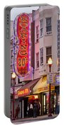 San Francisco North Beach District Portable Battery Charger