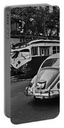 San Francisco Vintage Scene Portable Battery Charger
