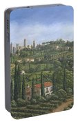 San Gimignano Tuscany Portable Battery Charger