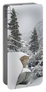 San Jacinto Winter Wilderness Portable Battery Charger