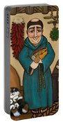 San Pascual Portable Battery Charger by Victoria De Almeida