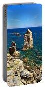San Pietro Island - Le Colonne Cliff Portable Battery Charger