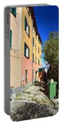 San Rocco In Camogli Portable Battery Charger