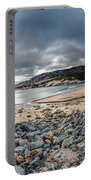 Sand Beach At Acadia Portable Battery Charger