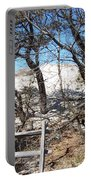 Sand Dune With Trees Portable Battery Charger