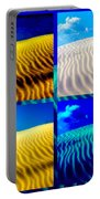 Sand Dunes Collage Portable Battery Charger