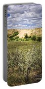 Sand Dunes In Manitoba Portable Battery Charger
