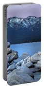 Sand Harbor Rocks Portable Battery Charger