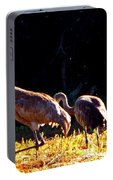 Sand Hill Crane  Portable Battery Charger