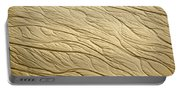 Sand Patterns Portable Battery Charger