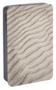 Sand Ripples Natural Abstract Portable Battery Charger