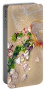 Sand Sea And Shells Portable Battery Charger