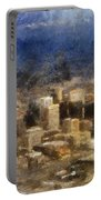 Sand Storm Approaching Phoenix Photo Art Portable Battery Charger