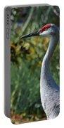 Sandhill Crane Profile Portable Battery Charger