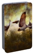 Sandhill Cranes  Portable Battery Charger