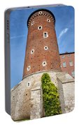 Sandomierska Tower Of Wawel Castle In Krakow Portable Battery Charger