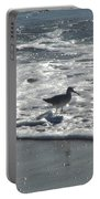 Sandpiper In The Surf Portable Battery Charger