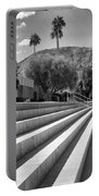 Sandpiper Stairs Bw Palm Desert Portable Battery Charger