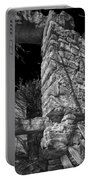 Sandstone Arch Jerome Black And White Portable Battery Charger