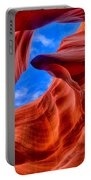 Sandstone Curves In Antelope Canyon Portable Battery Charger