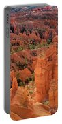 Sandstone Hoodoos At Sunrise Bryce Canyon National Park Utah Portable Battery Charger