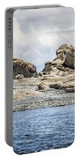 Sandstone Island Sculptures Portable Battery Charger