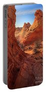 Sandstone Window Portable Battery Charger