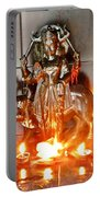Sani Murti - Temple To Saturn - India Portable Battery Charger