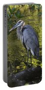 Sanibel Great Blue Heron Portable Battery Charger