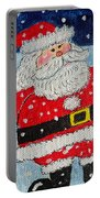 Santa And Rudolph Portable Battery Charger