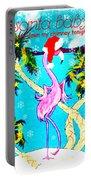 Santa Baby Flamingo Portable Battery Charger