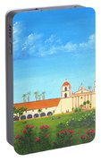 Santa Barbara Mission Portable Battery Charger