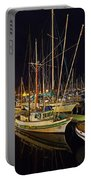 Santa Barbata Harbor Color Portable Battery Charger