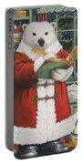 Santa Bear Portable Battery Charger