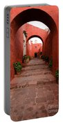 Santa Catalina Monastery In Arequipa Peru Portable Battery Charger