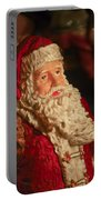 Santa Claus - Antique Ornament - 01 Portable Battery Charger by Jill Reger