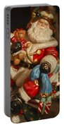 Santa Claus - Antique Ornament -05 Portable Battery Charger