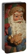 Santa Claus - Antique Ornament - 09 Portable Battery Charger by Jill Reger