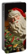Santa Claus - Antique Ornament - 10 Portable Battery Charger by Jill Reger