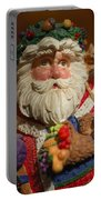 Santa Claus - Antique Ornament - 20 Portable Battery Charger by Jill Reger