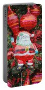 Santa Claus Balloon Portable Battery Charger