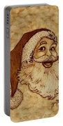 Santa Claus Joyful Face Portable Battery Charger