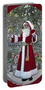 Santa Claus Walt Disney World Oval Portable Battery Charger