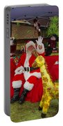 Santa Clausewith The Animals Portable Battery Charger