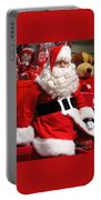 Santa Is Ready Portable Battery Charger