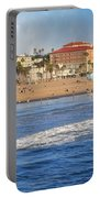 Santa Monica Beach View  Portable Battery Charger