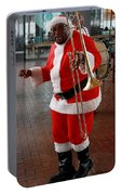 Santa New Orleans Style Portable Battery Charger