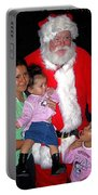 Santa Poses With Fans At Annual Christmas Parade Eloy Arizona 2004 Portable Battery Charger