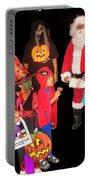 Santa Trick Or Treaters Halloween Party Casa Grande Arizona 2005 Portable Battery Charger