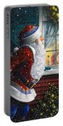 Santa's At The Window Portable Battery Charger